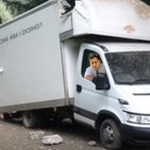 Milliband bad van day