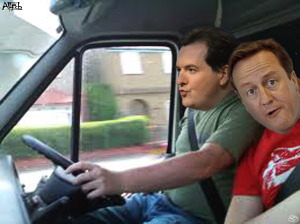 george and dave white van man