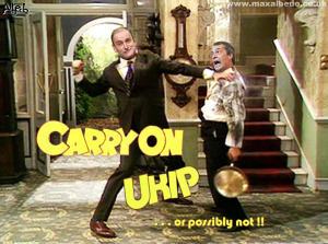 UKIP comes to blows