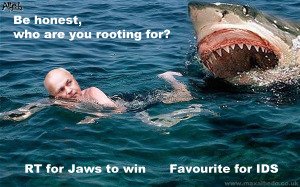 IDS shark attack