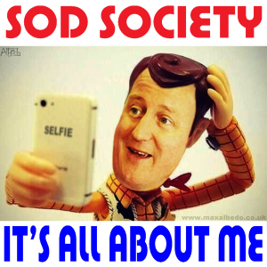 Selfie politics - that fits