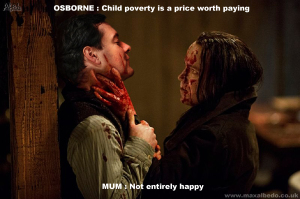 Child povert is a price worth paying