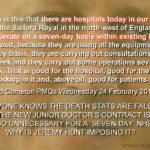 NHS lies