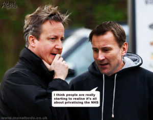 Hunt's NHS deciept