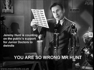 Hunt's NHS lies