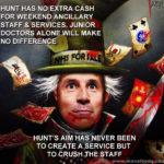 Hunt's aims