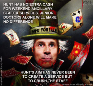 Hunt's aims