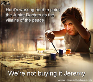 Hunt's dishonest picture