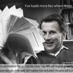 Hunt's endless lies