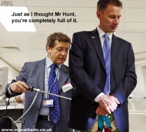 Hunt's rear exam