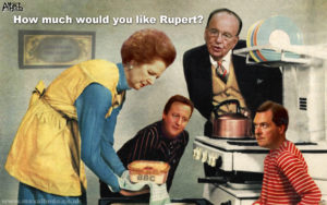 Murdoch's BBC meal