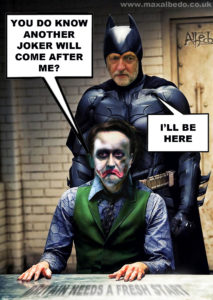Cameron's batman moment