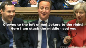 cameron's last laugh