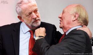 Corbyn and kinnock