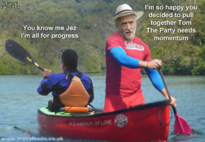 Corbyn call for united boat