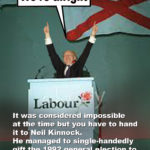 Kinnock sheffield 92