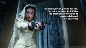 May's honeymoon over