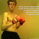 Smith's boxing selfie