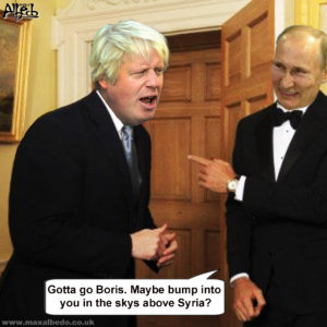 Boris & Putin on syria