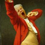 Boris yawn