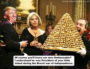 Farage ambassador