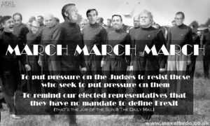 Farage march