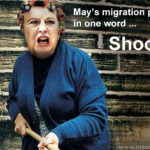May's new broom