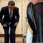 Saudi Obama bow 1