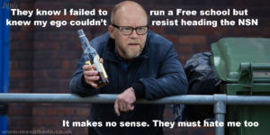 Toby Young dispair