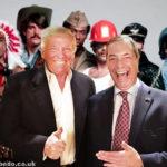 Trump Farage YMCA